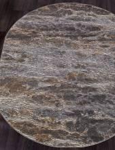 Ковер D777 - BEIGE-GRAY - Овал - коллекция SERENITY