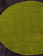 Ковер s600 - GREEN - Круг - коллекция SHAGGY ULTRA