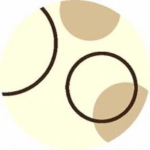 Ковер s610 - CREAM - Круг - коллекция SHAGGY ULTRA