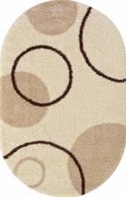Ковер s610 - CREAM - Овал - коллекция SHAGGY ULTRA - фото 2