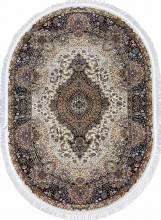 Ковер d414 - CREAM-NAVY - Овал - коллекция SHAHREZA - фото 2