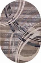 Ковер D284 - BEIGE-BROWN - Овал - коллекция SIERRA - фото 2