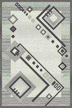 Ковер d188 - GRAY 2 - Прямоугольник - коллекция SILVER