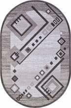 Ковер d188 - GRAY - Овал - коллекция SILVER - фото 2