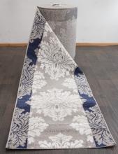 Ковровая дорожка d213 - GRAY-BLUE - коллекция SILVER