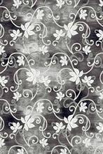 Ковер d218 - GRAY - Прямоугольник - коллекция SILVER