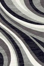 Ковер d234 - GRAY 2 - Прямоугольник - коллекция SILVER