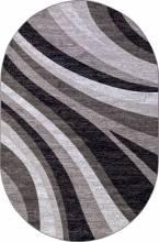 Ковер d234 - GRAY - Овал - коллекция SILVER - фото 2