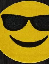 Ковер NC15 - YELLOW - Круг - коллекция SMILE