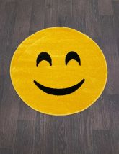 Ковер NC16 - YELLOW - Круг - коллекция SMILE