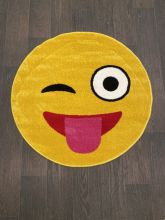 Ковер NC17 - YELLOW - Круг - коллекция SMILE