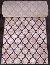 Ковровая дорожка D5180 - 051 PURPLE - коллекция STYLE