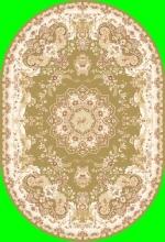 Ковер 6315 - GREEN - Овал - коллекция TEGERAN