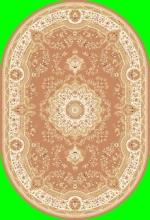 Ковер 6315 - PINK - Овал - коллекция TEGERAN