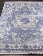 Ковер 08311T - BLUE / BLUE - Прямоугольник - коллекция TRUVA