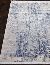 Ковер 08401T - BLUE / BLUE - Прямоугольник - коллекция TRUVA