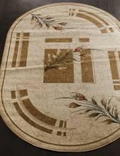 Ковер 5442 - CREAM - Овал - коллекция VALENCIA 2