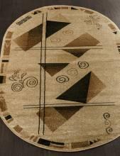 Ковер 5383 - CREAM - Овал - коллекция VALENCIA