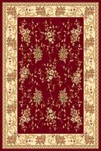 Ковер 5455 - RED - Прямоугольник - коллекция VALENCIA