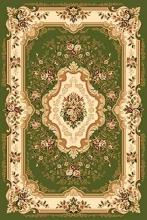 Ковер d017 - GREEN - Прямоугольник - коллекция VALENCIA