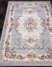 Ковер 4015 - L.BLUE-BROWN - Прямоугольник - коллекция VALENCIA DELUXE