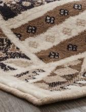 Ковер d243 - CREAM-BROWN - Прямоугольник - коллекция VALENCIA DELUXE - фото 3