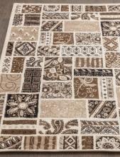 Ковер d243 - CREAM-BROWN - Прямоугольник - коллекция VALENCIA DELUXE