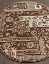 Ковер d248 - BROWN - Овал - коллекция VALENCIA DELUXE