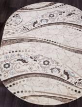 Ковер d312 - CREAM-BROWN - Овал - коллекция VALENCIA DELUXE