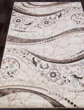Ковер d312 - CREAM-BROWN - Прямоугольник - коллекция VALENCIA DELUXE