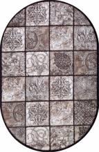 Ковер d328 - BROWN - Овал - коллекция VALENCIA DELUXE - фото 2